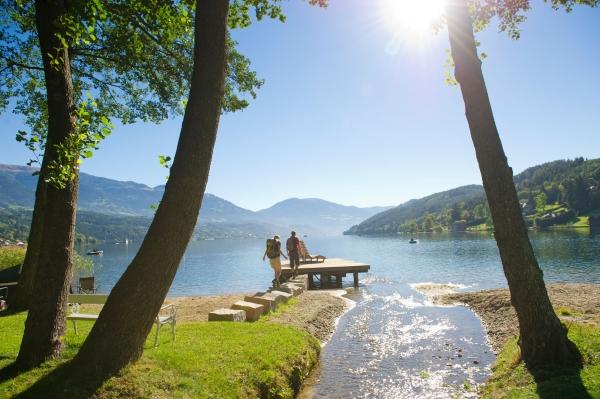 Alpe-Adria-Trails Etappe 11 Seeboden am MIllstätter See
